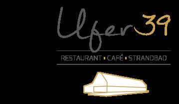 Ufer 39: Restaurant, Café, Biergarten, Strandbad